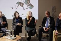 Dr. Kirsten Kappert-Gonther (Bündnis 90/Die Grünen) auf dem Podium (Foto: Alena Schmick)