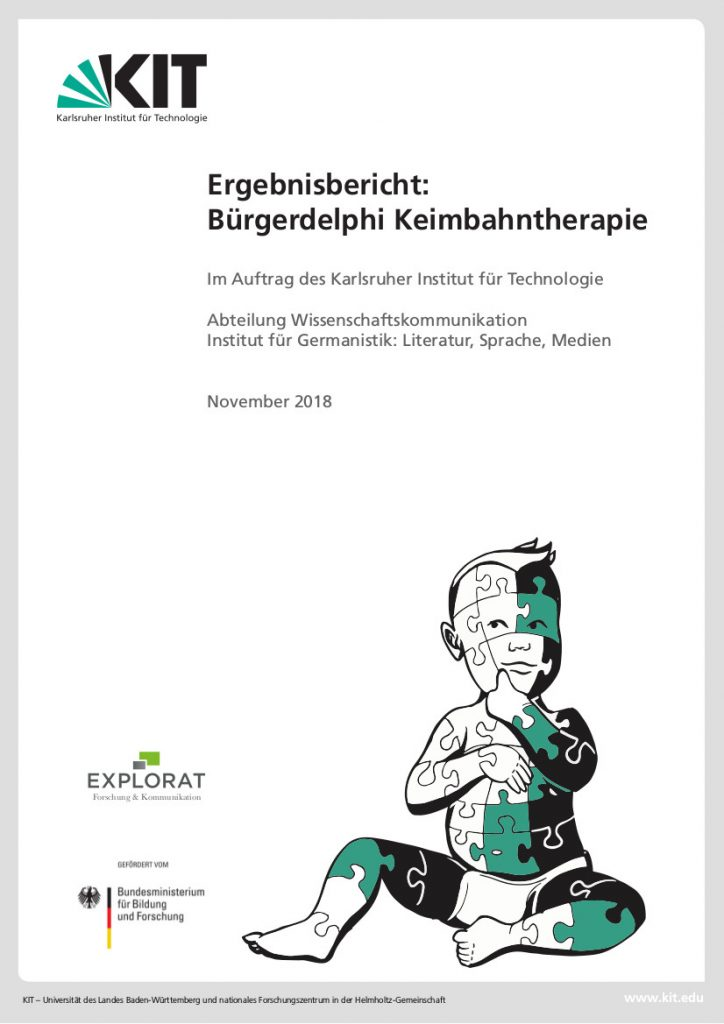 """Abschlussbericht """"Bürgerdelphi Keimbahntherapie"""""""